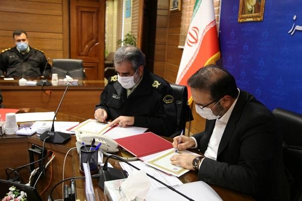 امضای تفاهمنامه همکاری «قرارگاه پیشگیری و مقابله با جرایم خاص» در البرز