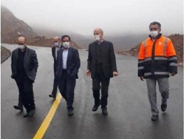 بازدید معاون وزیر از پروژه های راهداری استان البرز