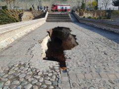مرمت اضطراری پل تاریخی خاتون کرج در دستور کار قرار گرفت