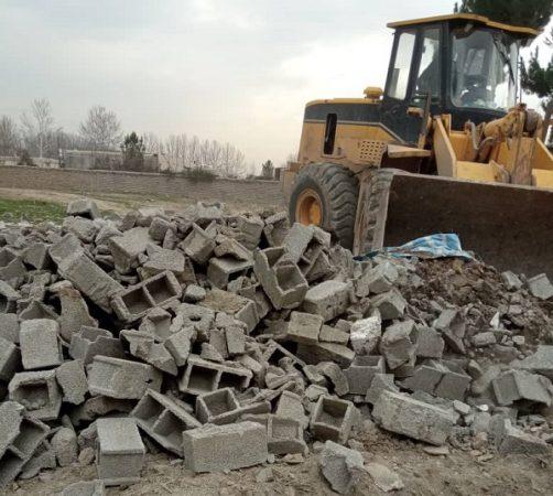 آزادسازی عرصهی تپهی تاریخی ملکآباد ساوجبلاغ