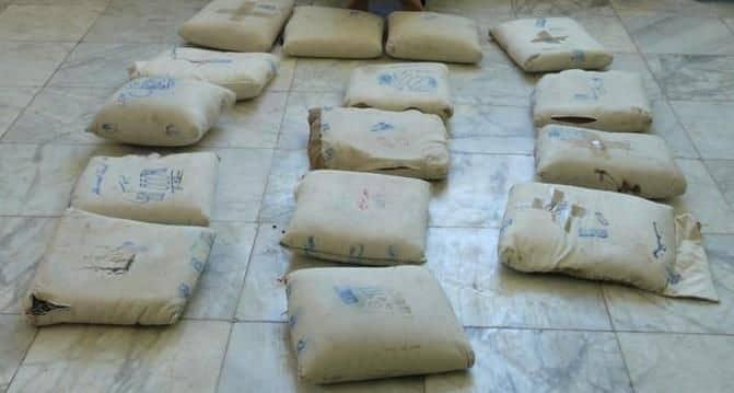 کشف ۲۰۵ کیلو مواد افیونی در یک عملیات مشترک پلیس