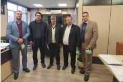 دیدار صمیمی رئیس انجمن روابط عمومی های استان با معاون سیاسی استانداری البرز