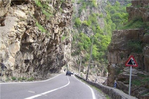 جاده چالوس تا آخر پاییز به صورت مقطعی مسدود میشود