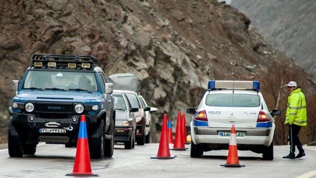 اعمال محدودیت تردد در جاده کرج – چااوس