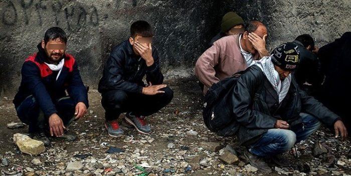 اجرای طرح جمعآوری معتادان متجاهر در کرج