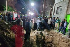پیکر بی جان مرد ۵۶ ساله در زیر خروارها خاک پیدا شد