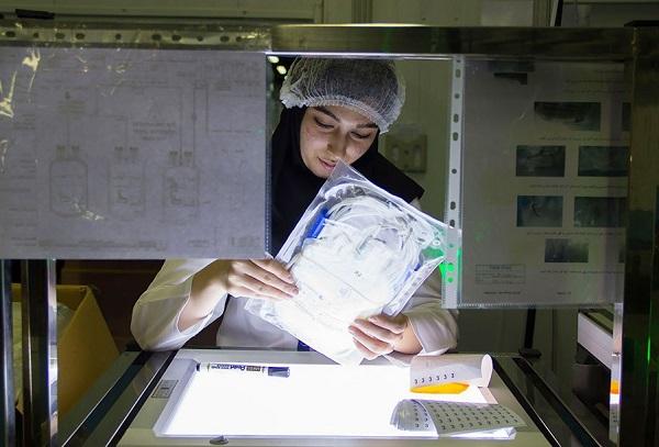 بزرگ ترین کارخانه کیسه های خونگیری خاورمیانه در یک قدمی تولید