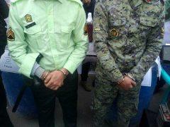 بازداشت مأمور قلابی در کرج