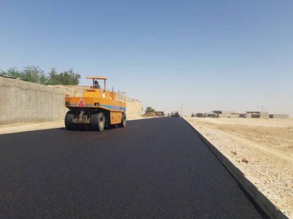 جاده روستایی حرین در محور کرج-چالوس بهسازی و آسفالت شد