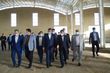 پیگیری استاندار البرز برای تامین منابع مالی نمایشگاه بین المللی استان/ آبرسانی به محل پروژه بررسی شد