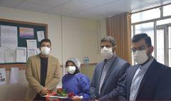اقدام ارزشمند جوانان در تجلیل از بانوی پزشک فداکار