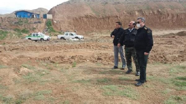 رفع تصرف ۴۸ هکتار از اراضی ملی استان البرز